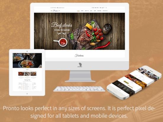 5 excelentes plantillas WordPress para restaurantes | El Blog de Rut ...